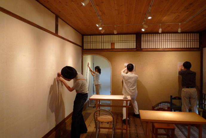 松尾和夏 からっぽの画廊の、星たちを縫う。