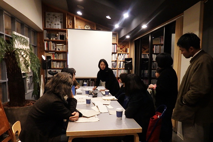 華雪書展 「鳥」 アフタートーク+ミニワークショップ