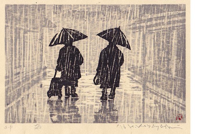 小林春規 雨