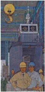 渡辺富栄 船を造る人々–掃海船建造・新年仕事初め–