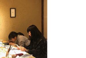 華雪による書と篆刻の講座