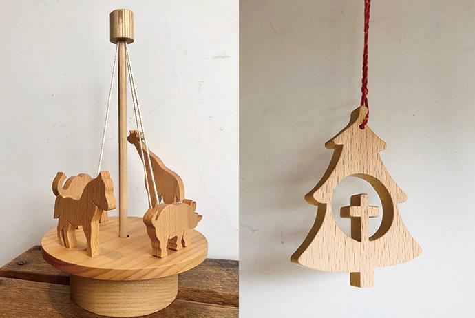 青松ワークスの木のおもちゃ